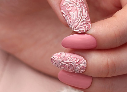 NAILCRUST.BAS-RELIEF MANICURE